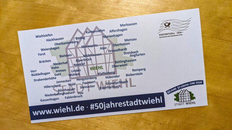 Postkarten zum Stadtgeburtstag